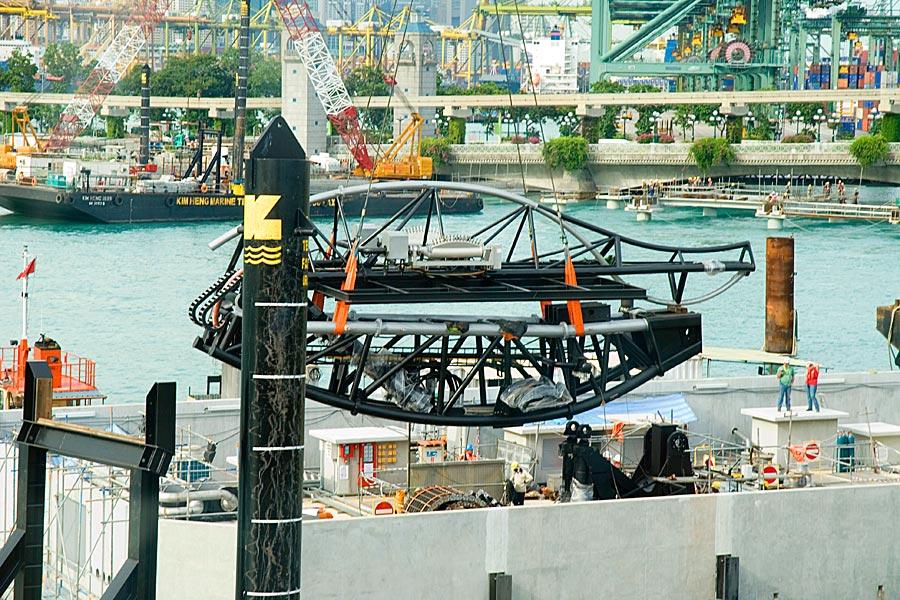 Project - Crane Dance at Resorts World Sentosa, Singapore